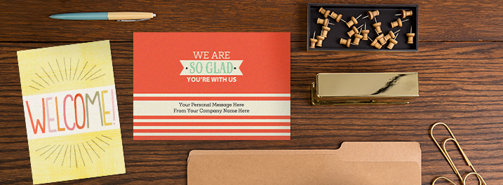 Welcome Cards for New Employees Hallmark Business Connections
