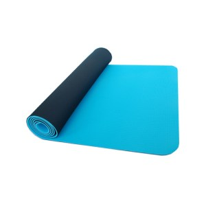 yoga mat blue