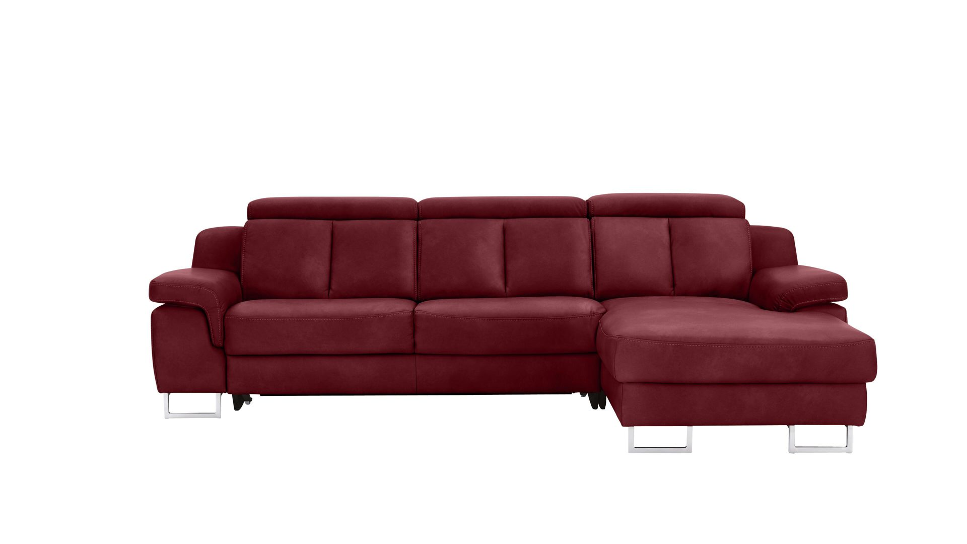 Ecksofa Trends Interliving Sofa Serie 4050 Eckkombination Rotes Longlife Leder