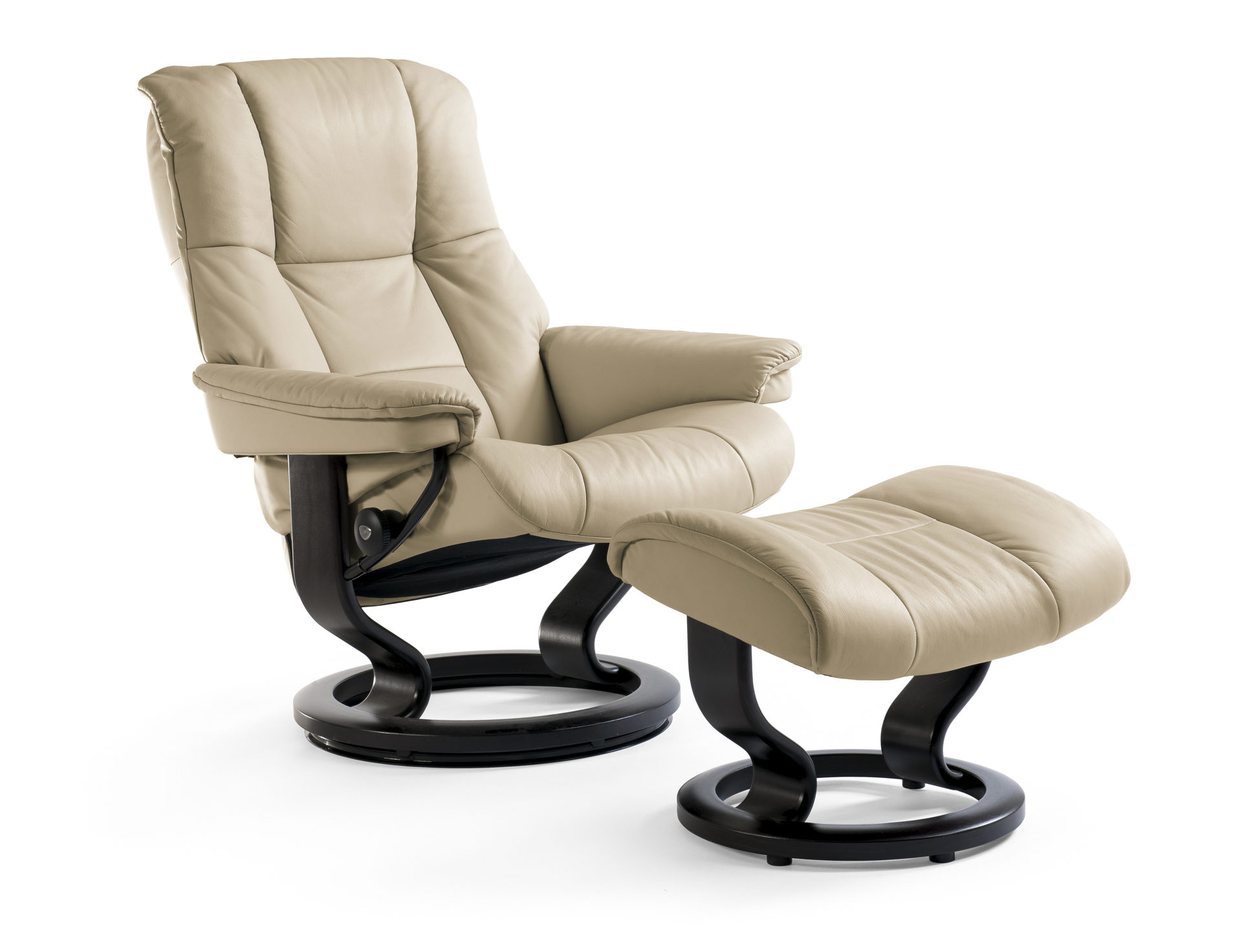 Stressless Ekornes Sessel Stressless Mayfair Relaxsessel Mit Hocker Noblesse Sand Black