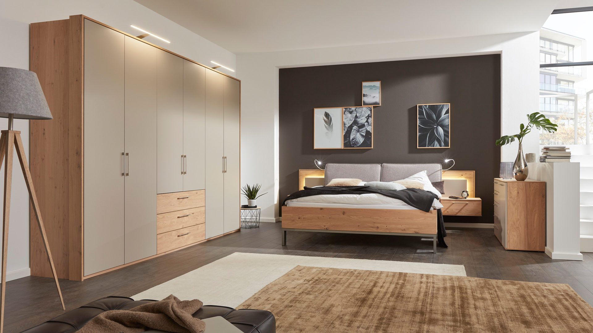 Farbe Schlafzimmer Holz Taupe Farbe Schlafzimmer