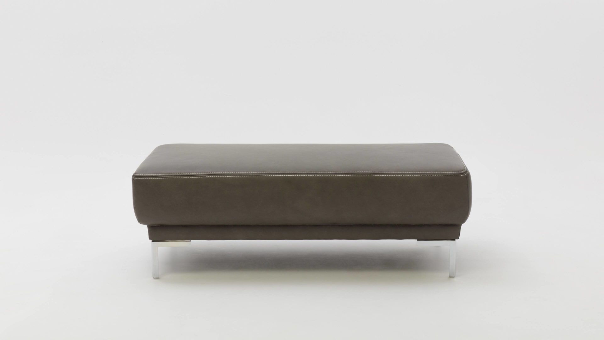 Polsterhocker Chrom Interliving Sofa Serie 4251 Xxl Polsterhocker Dunkelgraues