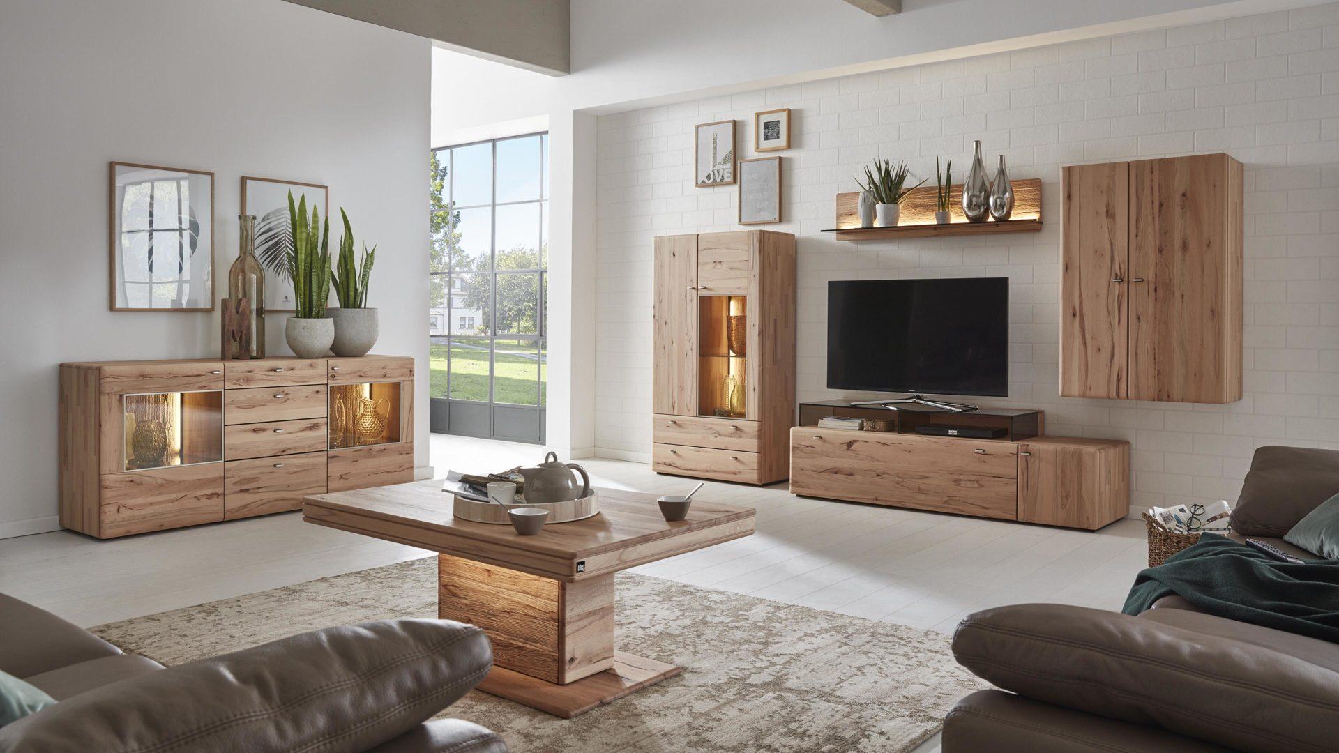 Wohnzimmer Mobel Serie Stauraumvitrine Serie Ribe Hohe 125m