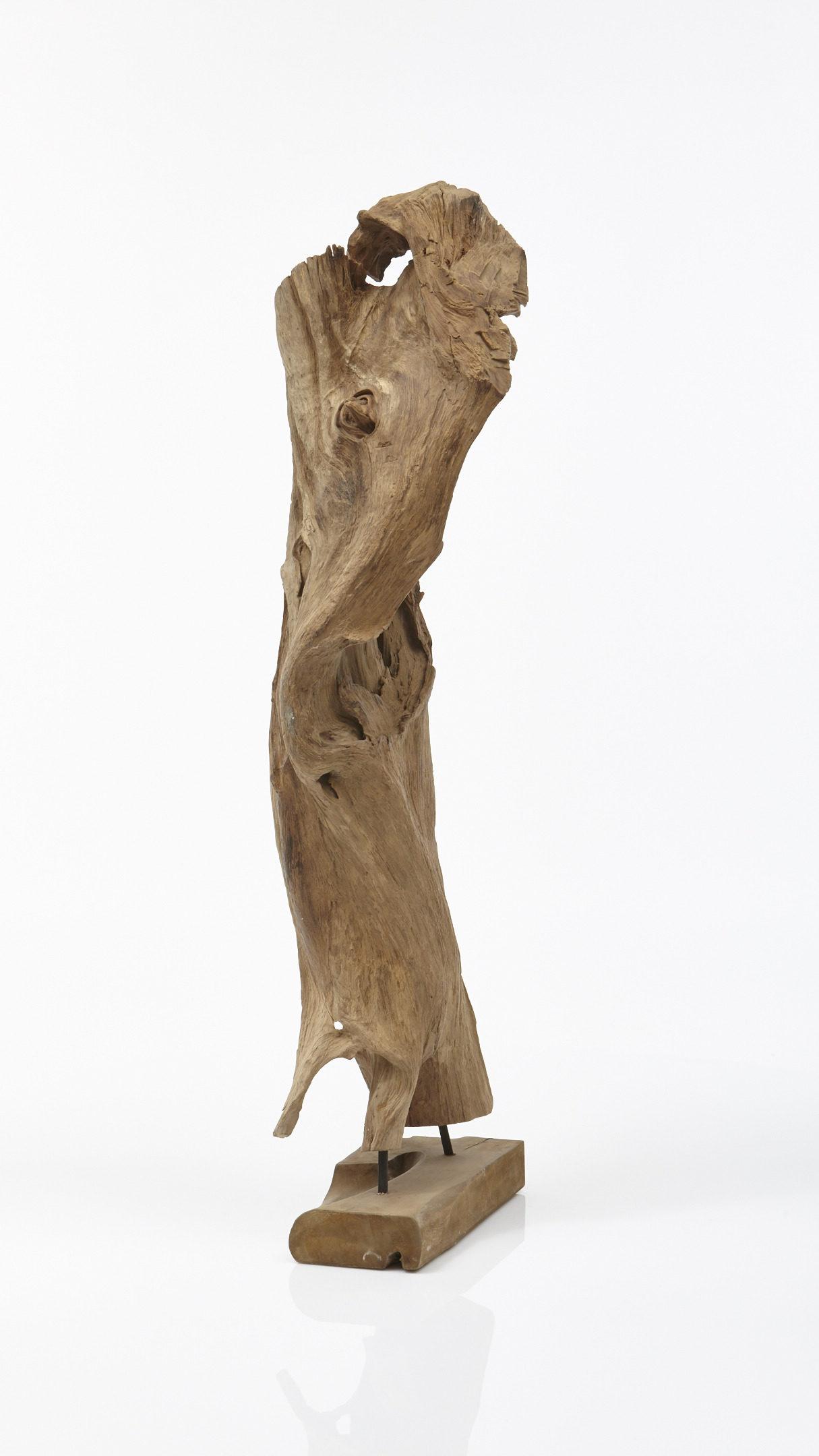 Skulpturen Holz Wohnzimmer