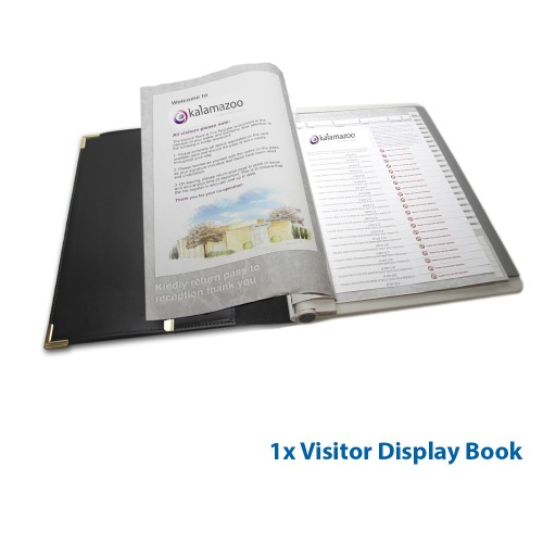Personalised Visitor Pass Starter Pack Kalamazoo Direct