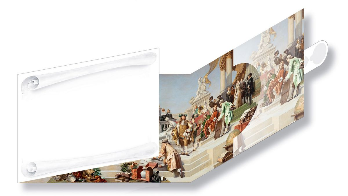 Arte-x Shop Wien Panorama Postcard Ceiling Painting In The Golden Hall Of The