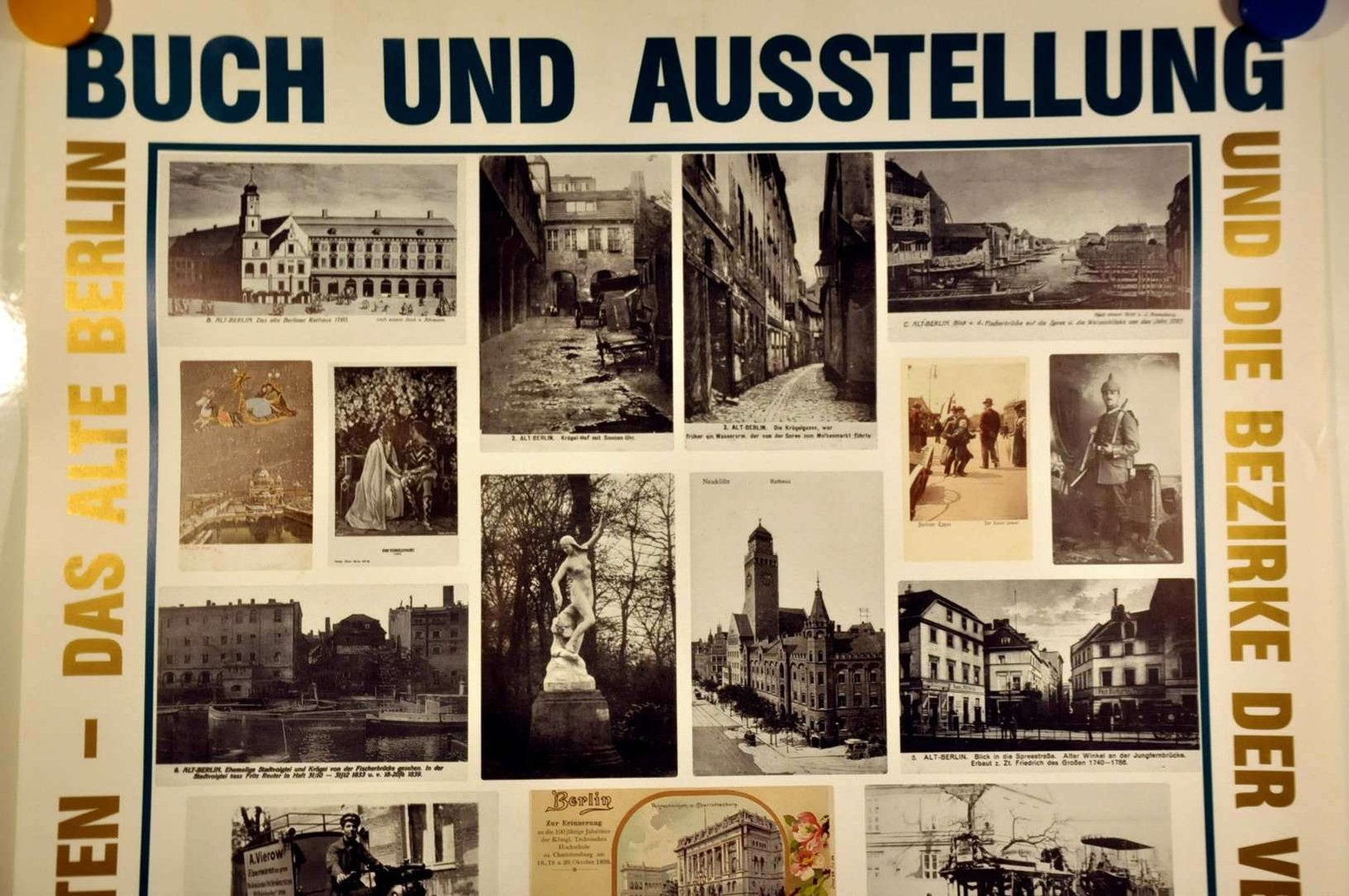 Poster Shop Berlin Book And Exhibition Poster 750 Years Berlin For Sale At Kusera