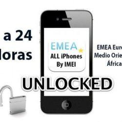 Liberacion / Unlock de iPhone Redes EMEA por IMEI (3G, 3GS, 4, 4S y 5)
