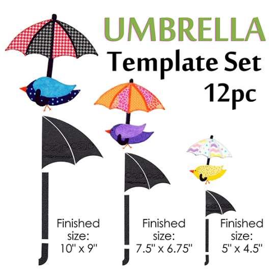 Umbrella Template Set shopmartellinotions