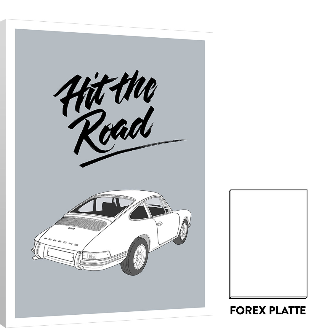Forex Platte Cars Serie: Porsche – Forex | Matthias Rendl Illustration Shop