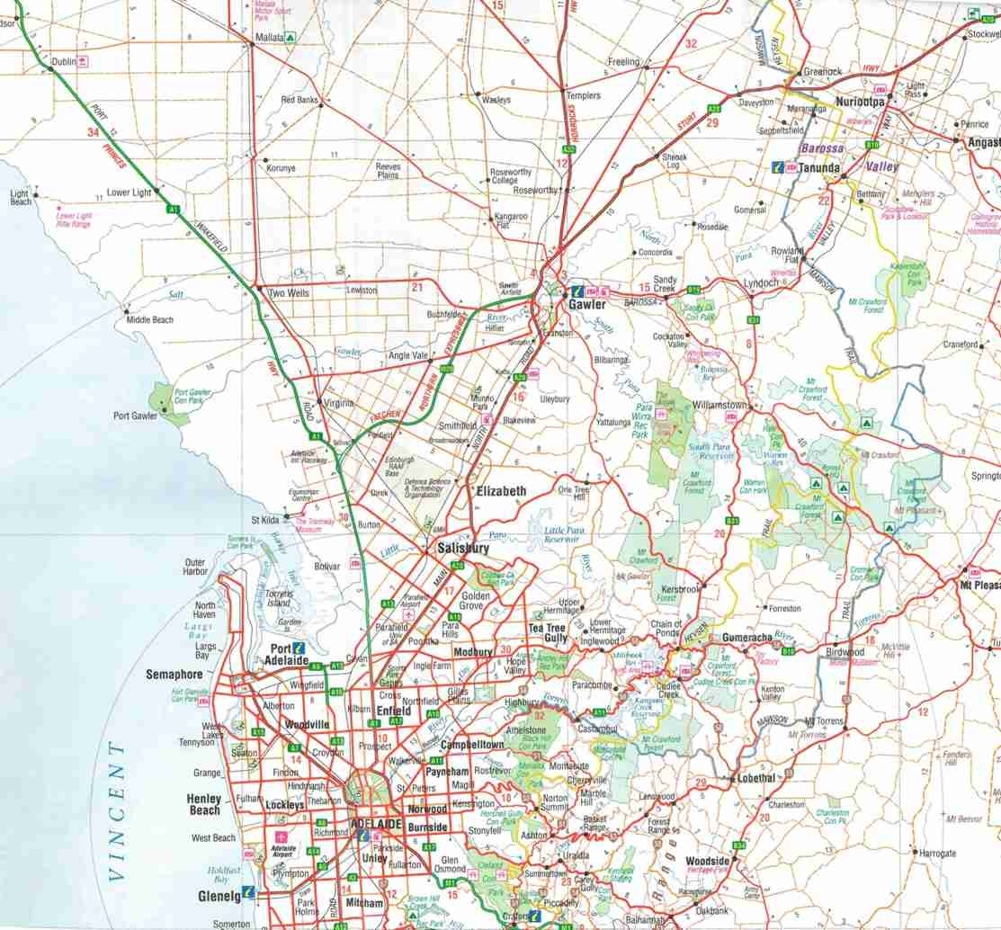 Map Shop Adelaide Themapstore Hema Adelaide And Region Travel Map