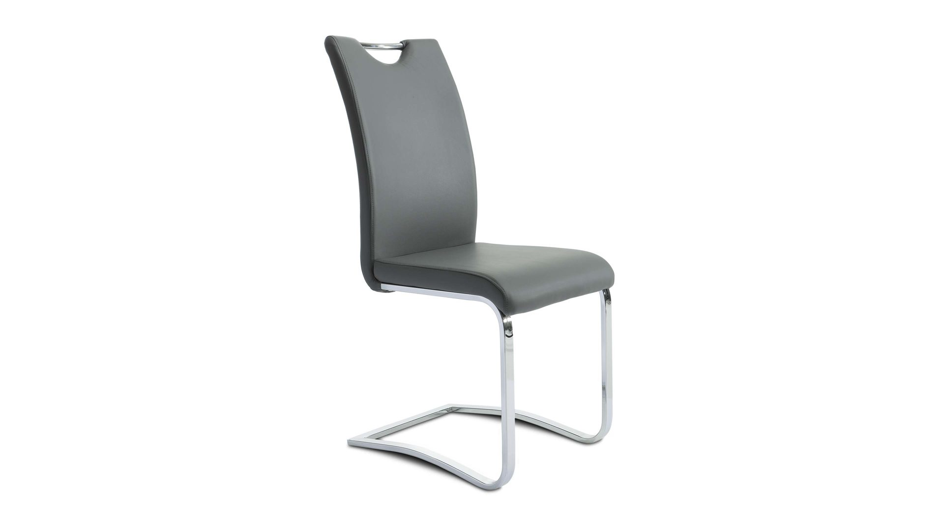 Freischwinger Sessel Mit Hocker Stuhle Esszimmerstuhle Esstisch