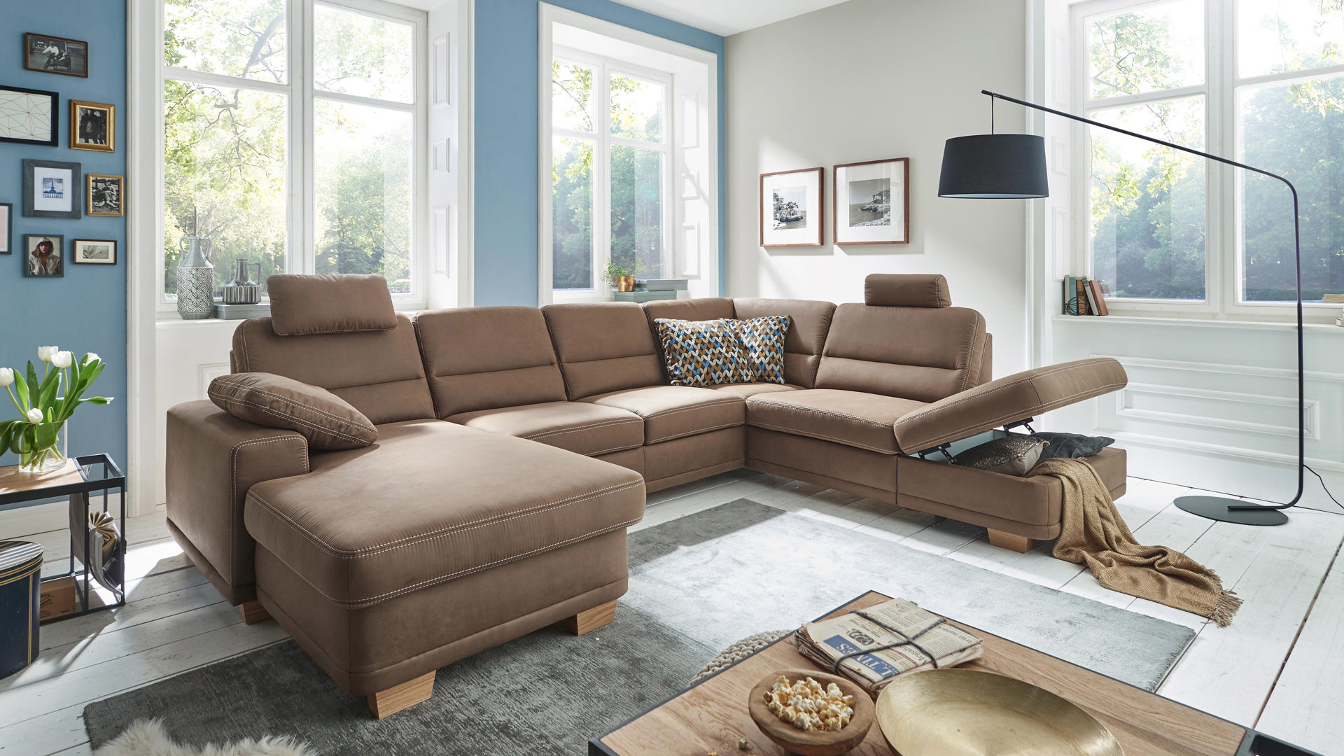Wohnlandschaft U Form 300 Cm Breit Ecksofa 300 Cm Best Modulmaster Ecksofa Facility S In Uform With