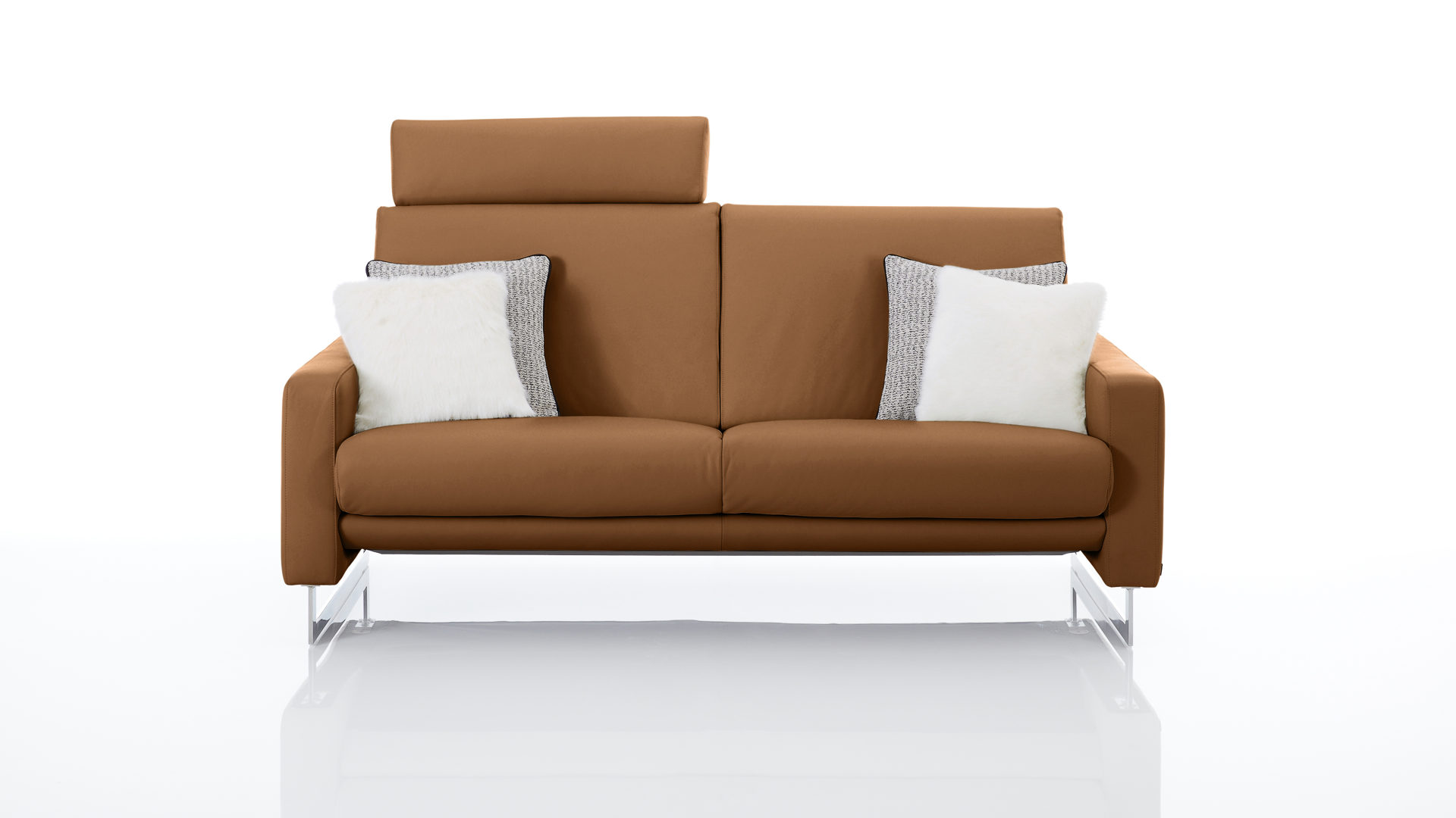 Polsterhocker Cognac Möbelhaus Franz Ohg Interliving Interliving Interliving Sofa