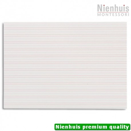 Double Lined Paper Narrow Lines (250)
