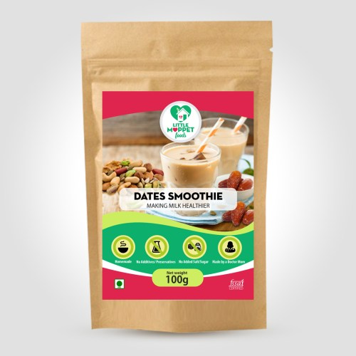 Dates Smoothie Mix- Instant Health Drink Powder For Kids And Adults