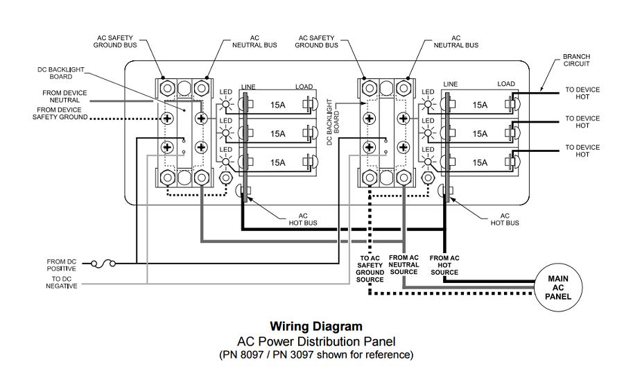 marine 120vac wiring