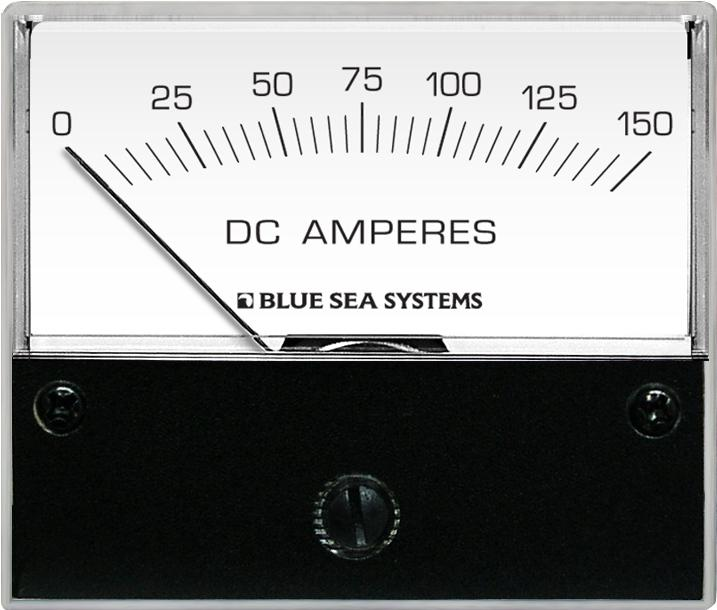 Blue Sea Systems 8018 Ammeter DC 0-150A + Shunt
