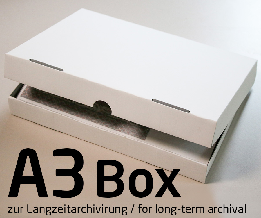 Photo archive box for DIN A3 prints for long-term archiving - Proof - box prints