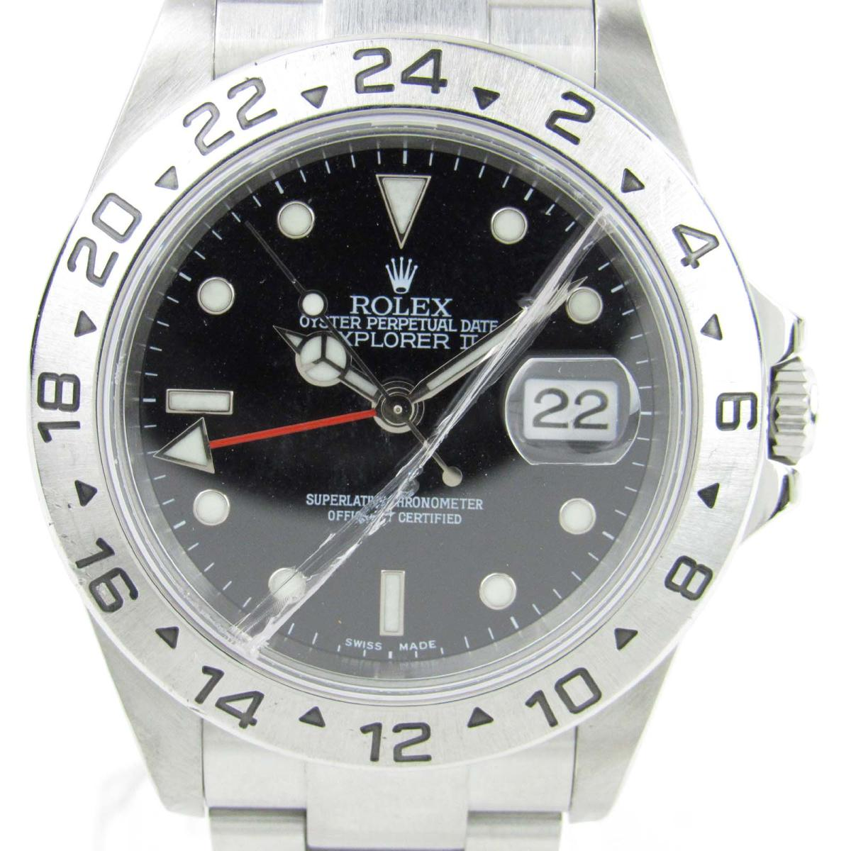 Rolex Explorer Rolex Explorer 2 Watch Watch Clock Men Stainless Steel Ss 16570