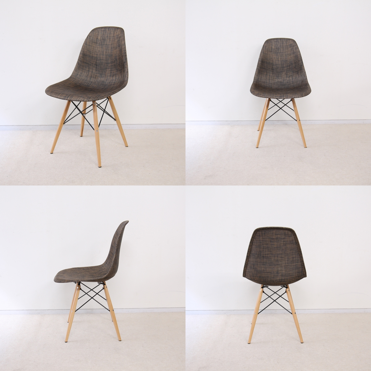 Eames Dsw Eames Dsw Natural Brown She Chair イームズチェア