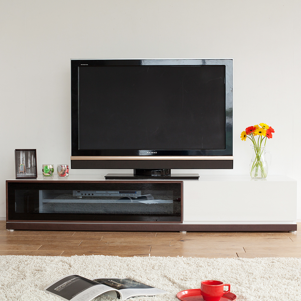 Tv Lowboard Real Tv Stand ペルル 180 Tv Board Tv Board Walnut Low Board Tree Wooden Finished Product Fashion White Living Living Board North Europe Sideboard Modern