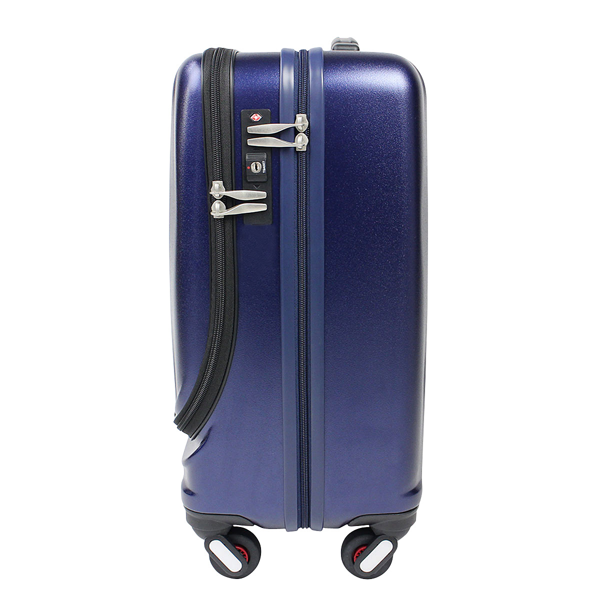 Lightweight Cabin Luggage Suitcase Frequenter Clam Front Open Suitcase Cabin Brought 34 L Lightweight S Size Bag Tsa Lock Approximately 1 2 Night Four Wheeled Zipper Carrying