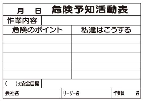 genba-anzen Rakuten Global Market KY Board for writing paper A3
