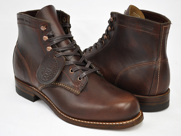 Gettry Wolverine 1000 Mile Boot Brown