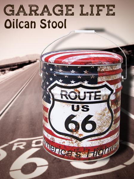 lavieen Rakuten Global Market American oil cans type stool (Chair