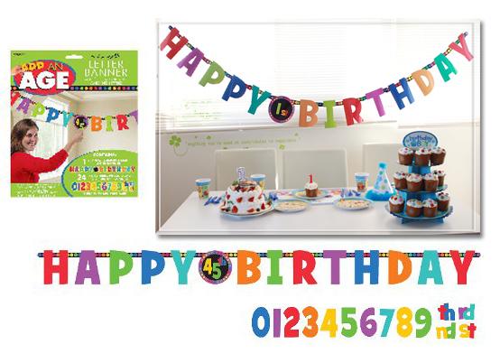 kyotorurihinagiku ≪New product sale ≫ letter banner birthday