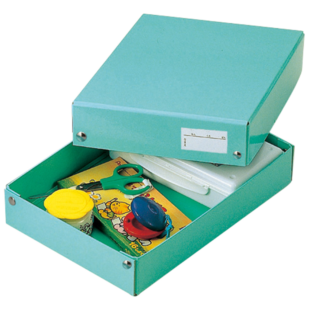 Stationary Boxes Your Tool Boxes Made Of Paper Dougubako Toolbox Stationery School Schoolchild A4 B5