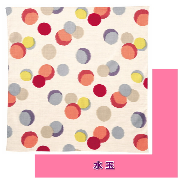 maruya8th Meisen patterned wrapping 70 girl plum plum polka dots
