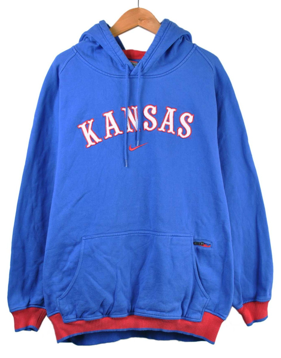 Pull Over Origin Pullover Sweat Shirt Parka Blue X Red Men 3xl Equivalency Of Nike Nike College Origin