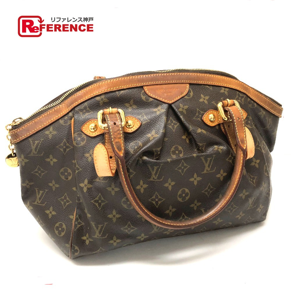 Tivoli Gm Authentic Louis Vuitton Monogram Tivoli Gm Shoulder Shoulder Bag Shoulder Bag Brown Monogramcanvas M40144
