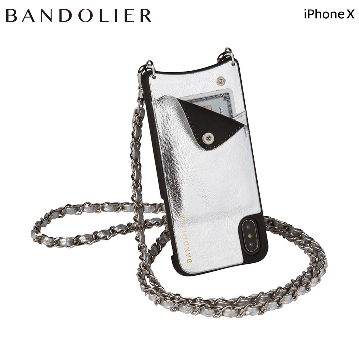 Messing Online Shop Band Re Yeah Bandolier Iphonex Case Smartphone Eyephone Lucy Metallic Silver Leather Men Gap Dis 6 1 Shinnyu Load
