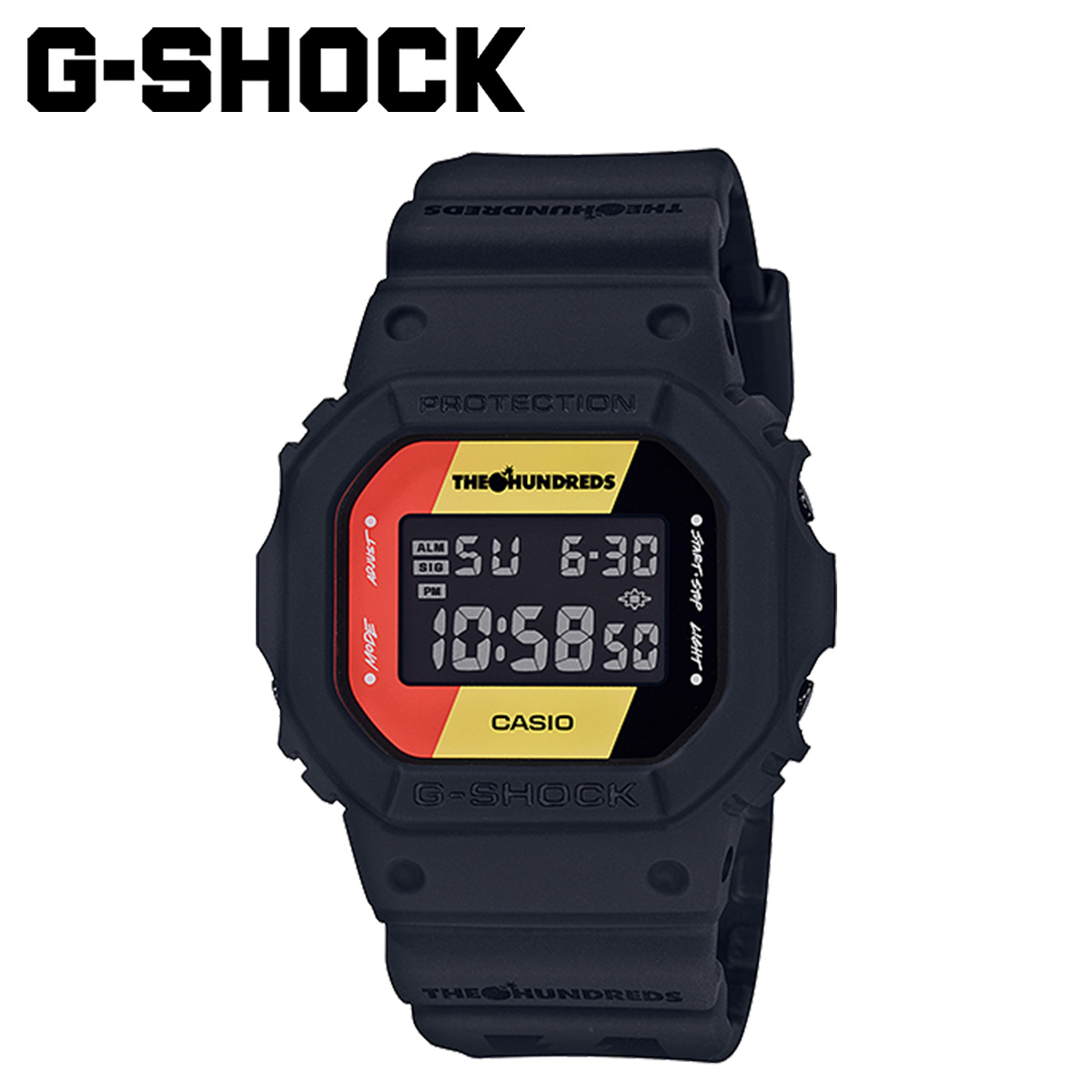 Dw Shop Casio Casio G Shock Watch Dw 5600hdr 1jr The Hundreds Collaboration Black Men Gap Dis Load Planned Shinnyu Load In Reservation Product 11 12