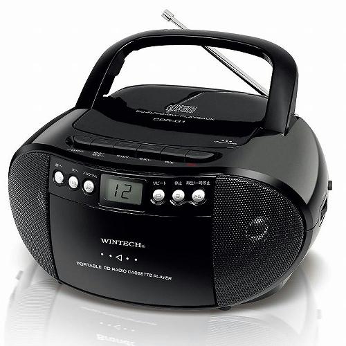 Tokiwa camera WINTECH Wintec CD radio cassette CDR-G1 Rakuten