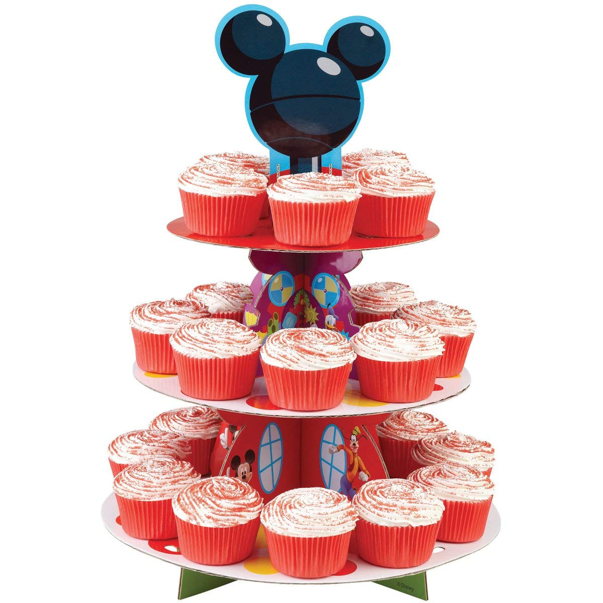 Décoration De Cupcake Cute Wilton Wilton Disney Treat Stands Mickey Disny Party Stand Cupcake Stand Decoration Cupcake Baking Confectionery Tool Supplies Paper оf