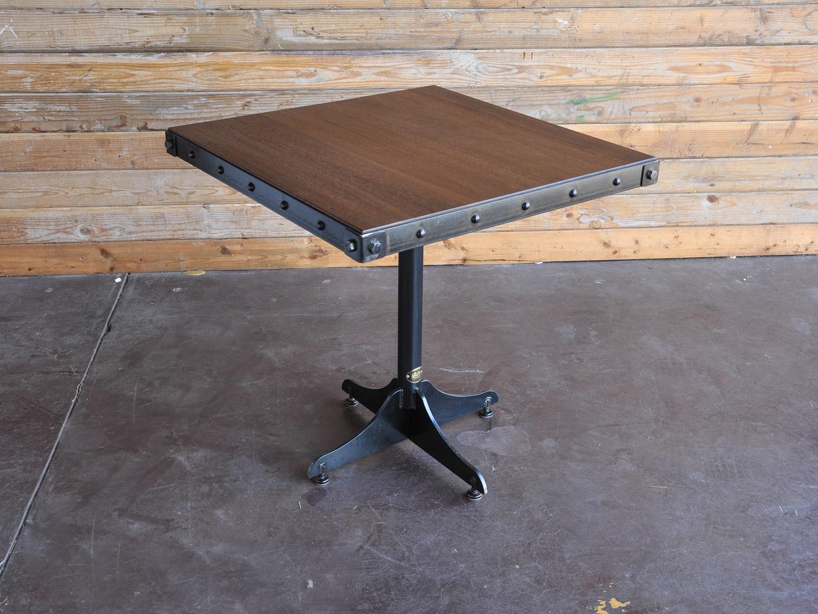 Cafe Table Vintage Industrial Furniture