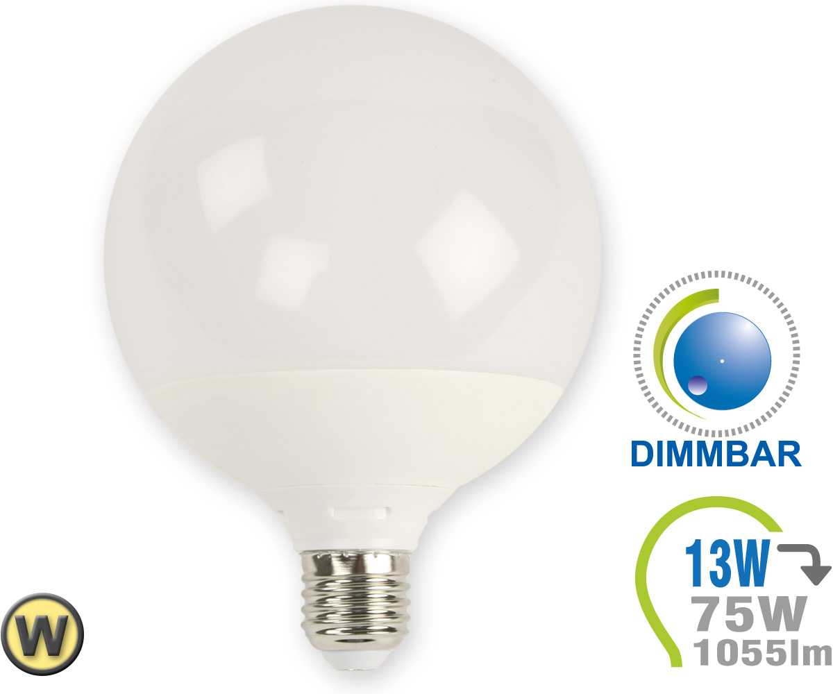 Led Dimmbar E27 E27 Led Lampe 13w G120 Warmweiß Dimmbar