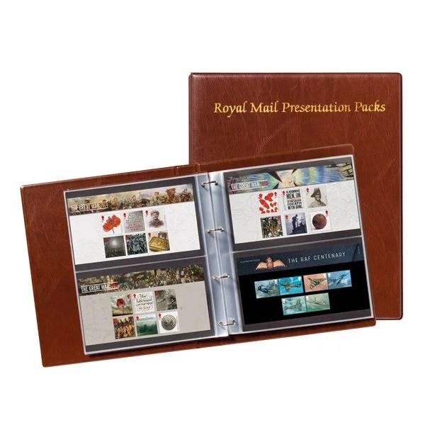 Presentation Pack Album Royal Mail