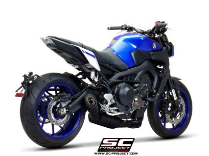 Full Exhaust System 3-1 - YAMAHA MT-09 (2017 - 2019)