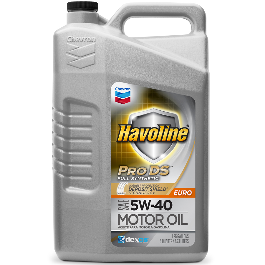 5 W 40 Havoline Prods Full Synthetic Motor Oil Sae Euro 5w 40