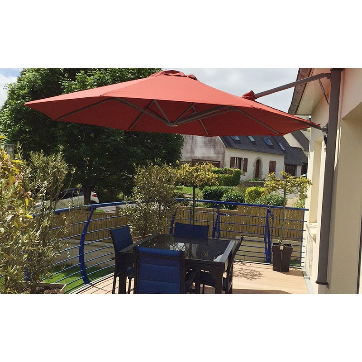 Parasol Aan Muur P7 Wall Parasol 250x250cm Now Available In The Official Solero Store