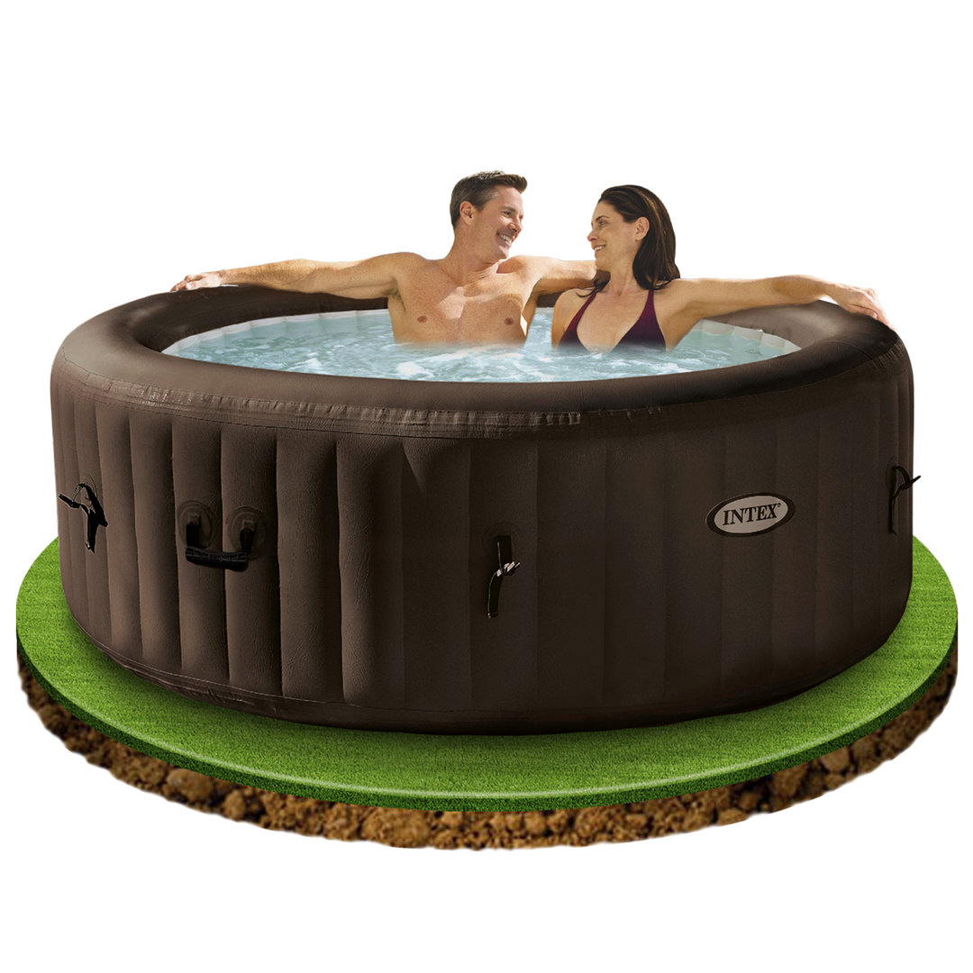 Jacuzzi Pool Chlorinator Purespa Round Jets Chlorinator 795l Brown