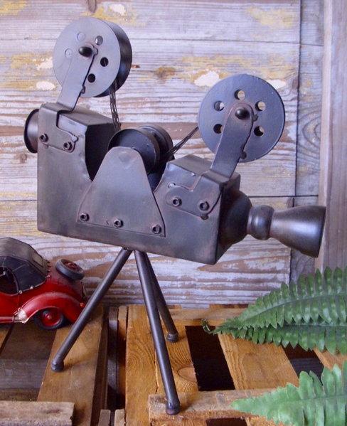 ... DEKO FILMKAMERA 20er 30er JAHRE ANTIK STIL KINO CINEMA METALL    Badezimmer 30er Jahre ...
