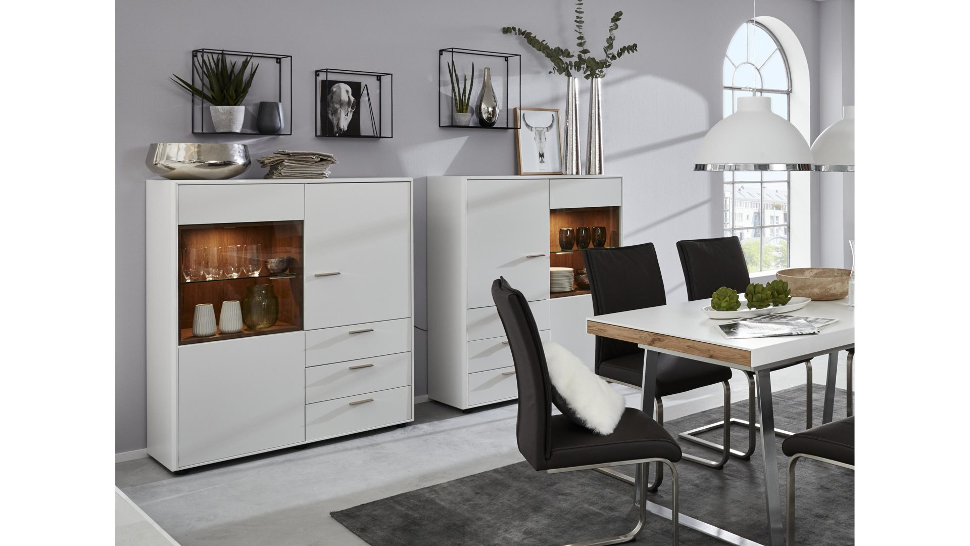 Esszimmer Highboard Möbelhaus Thiex Gmbh Interliving Esszimmer Highboards