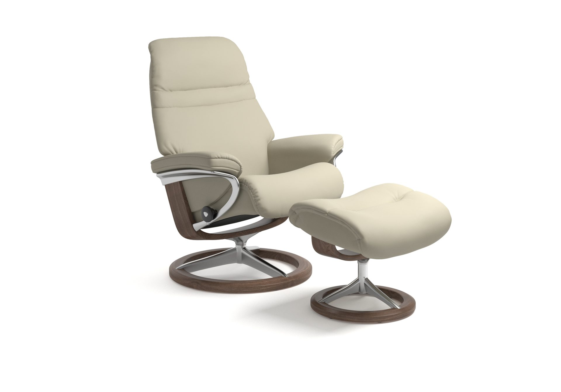 Stressless Sessel Inkl. Hocker Modell Sunrise (m) Classic Stressless Sessel Drehbar