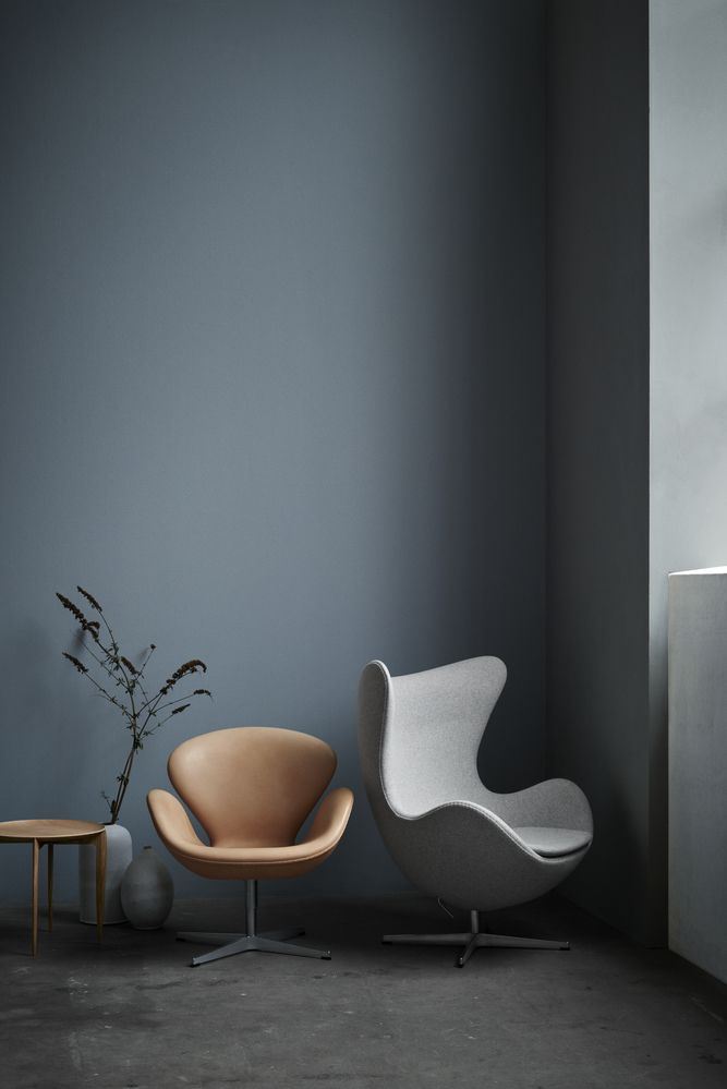 Sessel Leder Outlet Das Ei, Egg Chair Loungesessel